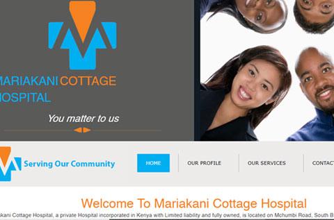 Mariakani cottage hospital thumbnail website