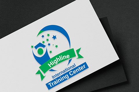 highline training center logo and graphic design thumbnail