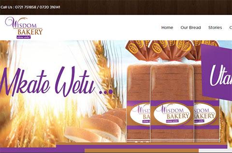 Wisdom Bread Ecommerce Website Design